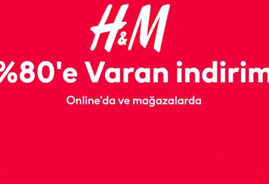 H&M'de %80'e Varan İndirim